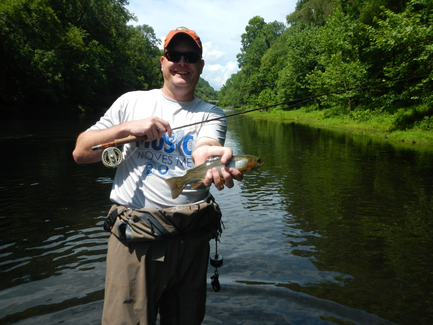 Fly fishing in north alabama huntsville outdoors for Tn fishing license online