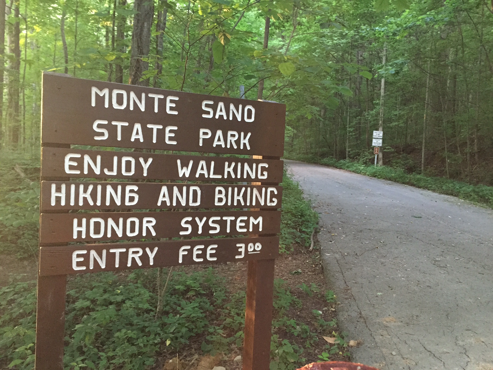 20 miles of hiking trails and 14 miles of biking trails can be found here in Monte Sano State Park.